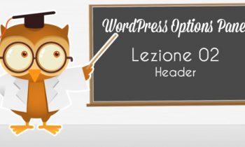 WordPress Option Panel – Custom Header