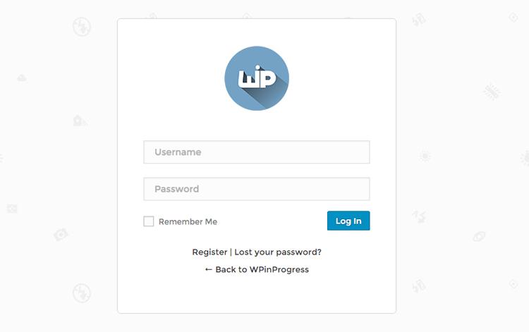 pagina-login-wp