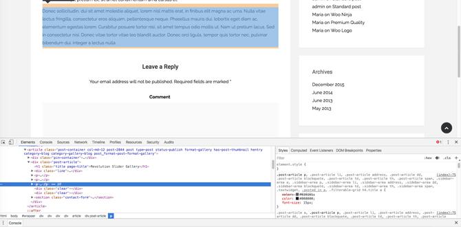modificare-tema-wordpress-ispeziona-elemento