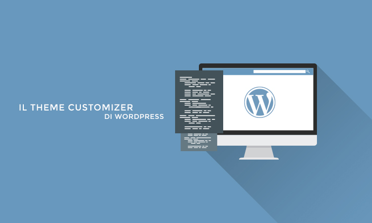 Il theme customizer di WordPress